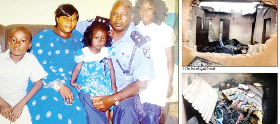 Dad and four children die in Jos house fire