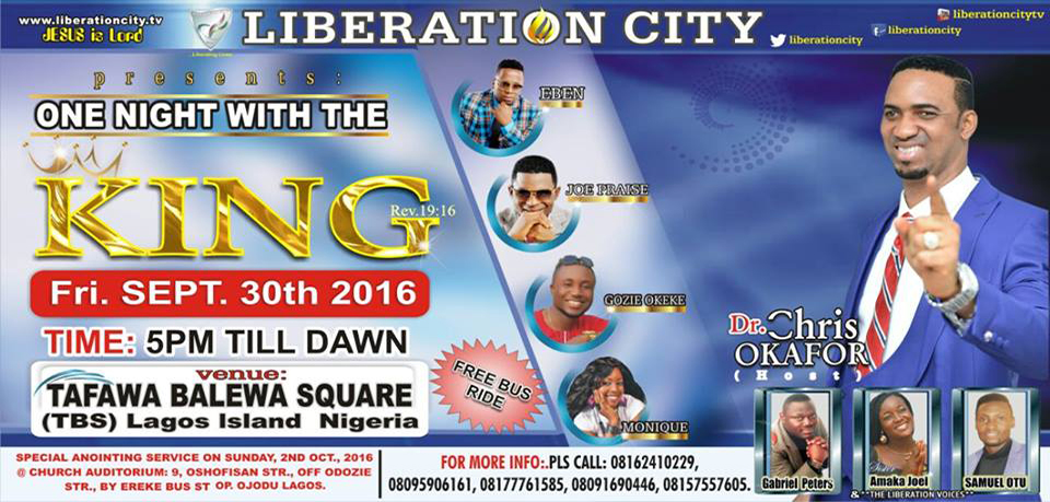 OrijoReporter.com, Prophet Chris Okafor's 'One night with the King'