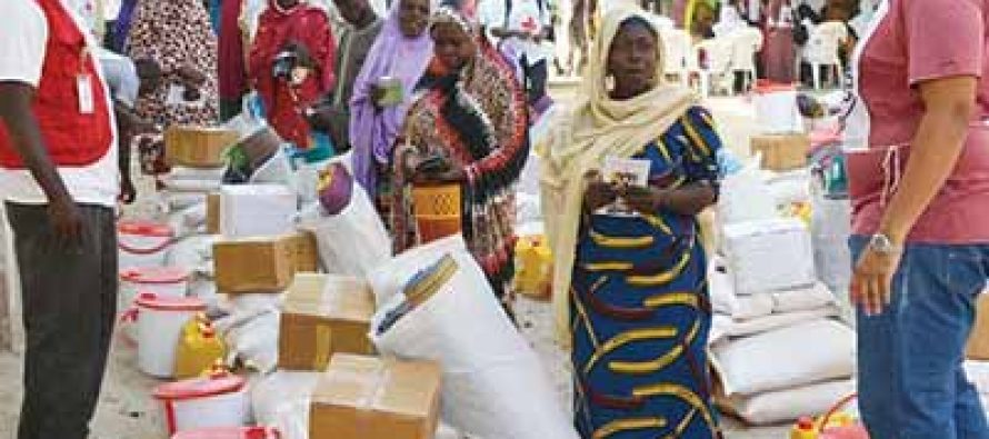 Unity Bank donates relief materials to Borno IDPs