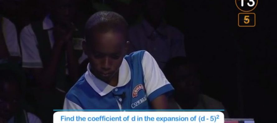 Cowbellpedia Maths tv Quiz: student draws inspiration from dancing