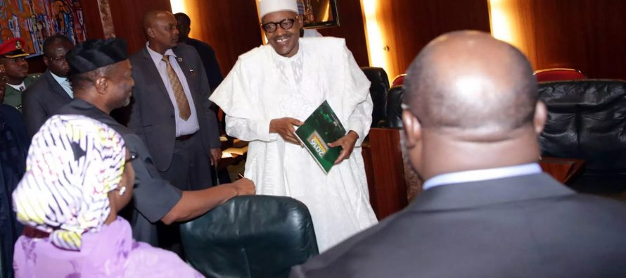 Recession: Buhari, Osinbajo, ministers criticised for smiling at FEC meetings