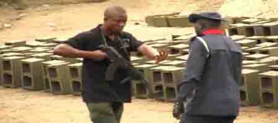 Gunshots as police, Civil Defence fight over salute in Akure