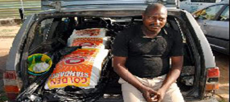 Man smuggles bags of rice as dead bodies