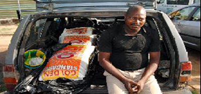 OrijoReporter.com, bags of rice packaged like dead bodies