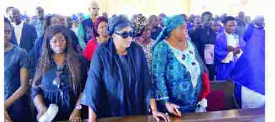 Stella Oduah ignores ex-husband, buries son in Anambra