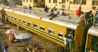 Beggar travelling on top of train for Sallah falls to death