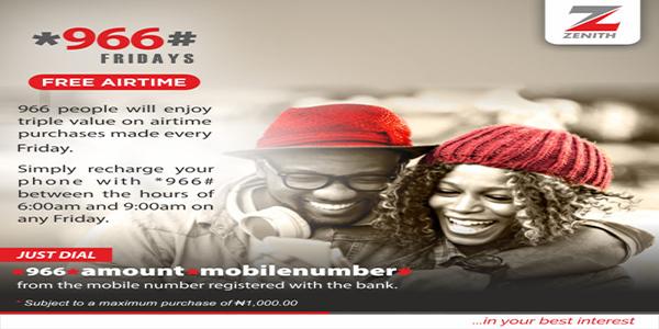 OrijoReporter.com, Zenith Bank free airtime promo