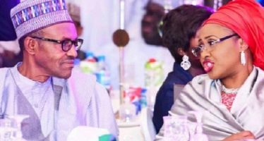 Buhari, Wife fight, abuses her in war of words