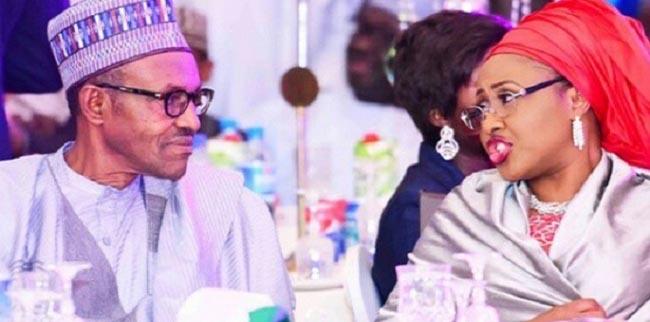 OrijoReporter.com, Buhari and wife fight
