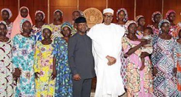 FG adopts 21 freed Chibok girls