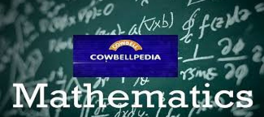 I use maths to relax – Cowbellpedia maths competition finalist