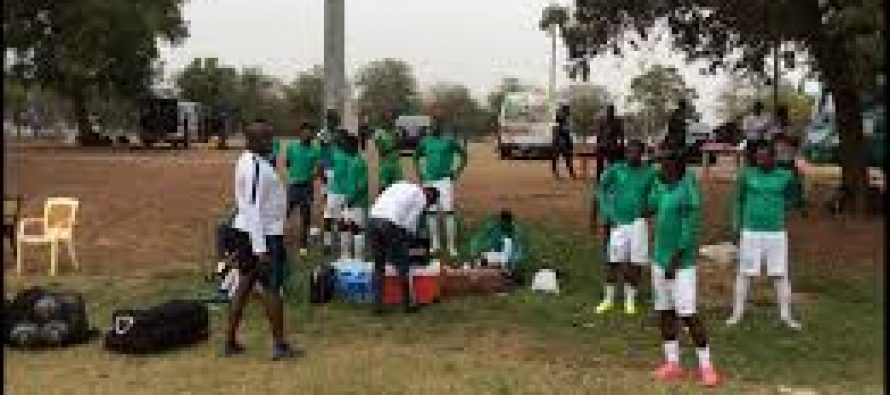 Church programme disrupts Super Eagles training