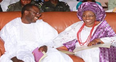 Fayemi nominated wife for ambassador, plots to frustrate Ayodeji's confirmation, Group alleges