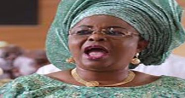 Patience Jonathan's supporters protest in court over her frozen $15m account