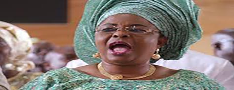OrijoReporter.com, Patience Jonathan's supporters protest in court
