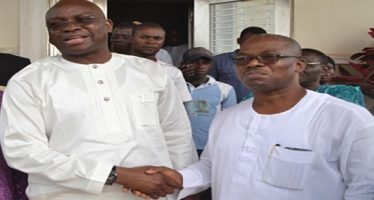 Everybody is my subject, Fayose brags over visit to  Segun Oni