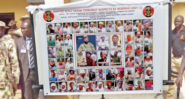 Pictures of 55 Boko Haram members on wanted list released