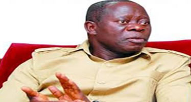 Oshiomhole to receive life pension, N200m house, two aides