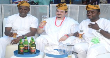 Unveiling of Goldberg Lager Beer as 'Your Excellency' in Lagos and Ibadan