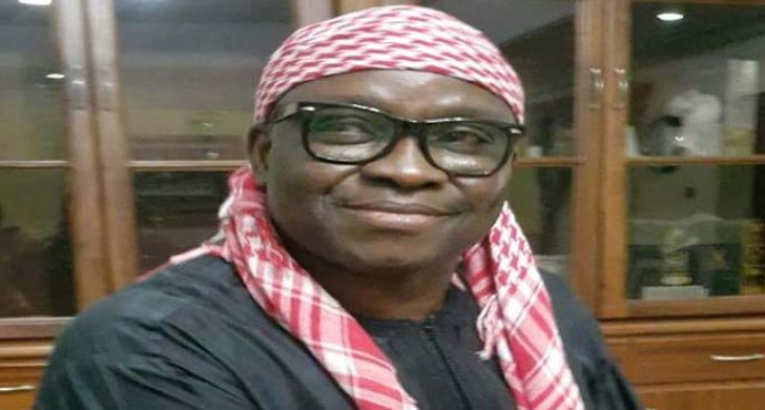 I will be on the mountain for a week, Fayose reveals