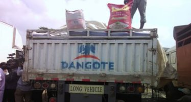 Customs impounds Dangote truck loaded with smuggled rice