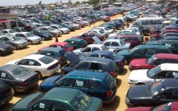 Importation of vehicles through land borders banned