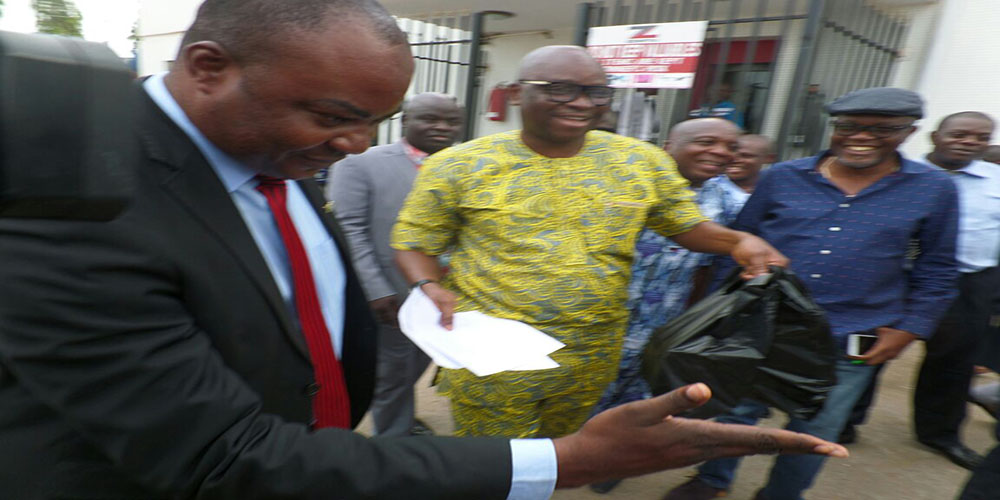 OrijoReporter.com, Fayose's withdrawal of N5m at Zenith bank
