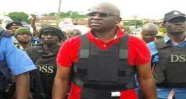 Am surrounded by enemies – Fayose