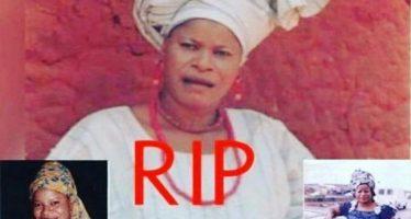 Yoruba actress Mulikat Adegbola dies after brief illness