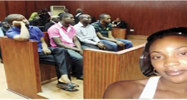 Suspected killers of Facebook lover, Cynthia, know fate, as court fixes  March 23 for Judgement