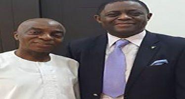 Fani-Kayode visits Bishop Oyedepo, posts pics on Facebook