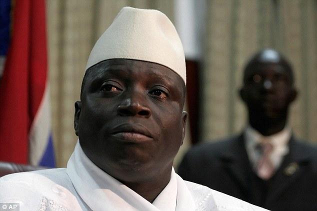 OrijoReporter.com, Yahaya jammeh surrender