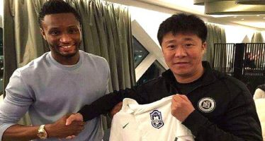 Mikel Obi finally joins Chinese side, Tianjin Teda