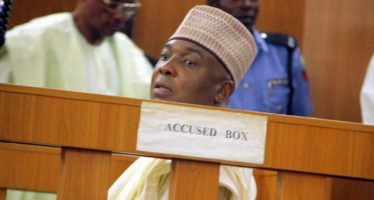 Drama as Saraki rejects water he was offered by CCT chairman  – Report
