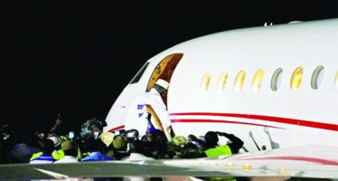 Tinubu linked with plane that flies Jammeh into exile