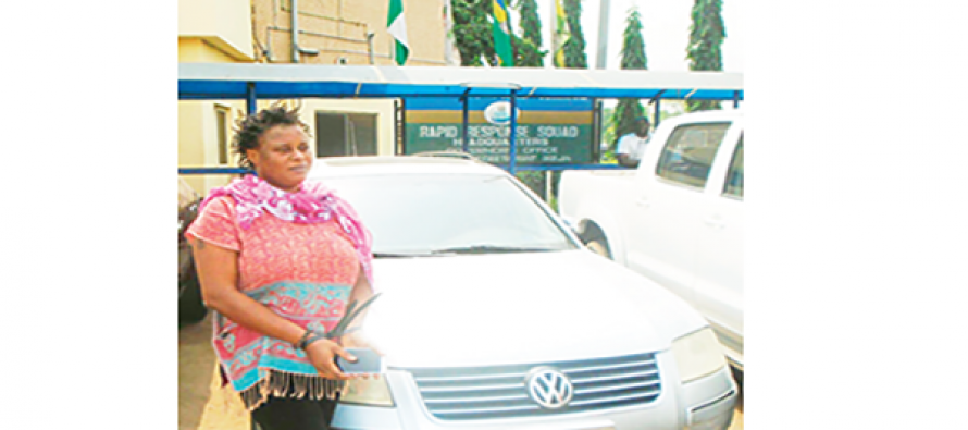 Female thief arrested for robbing lovers she met on dating site of their cars