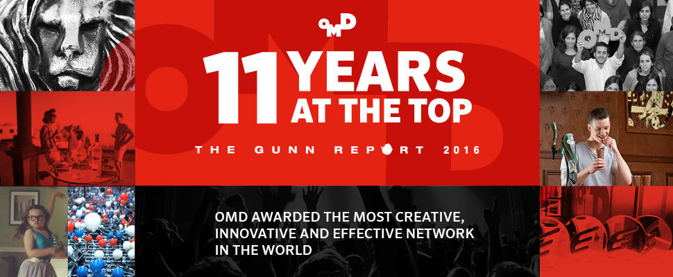OrijoReporter.com, OMD wins most creative agency award