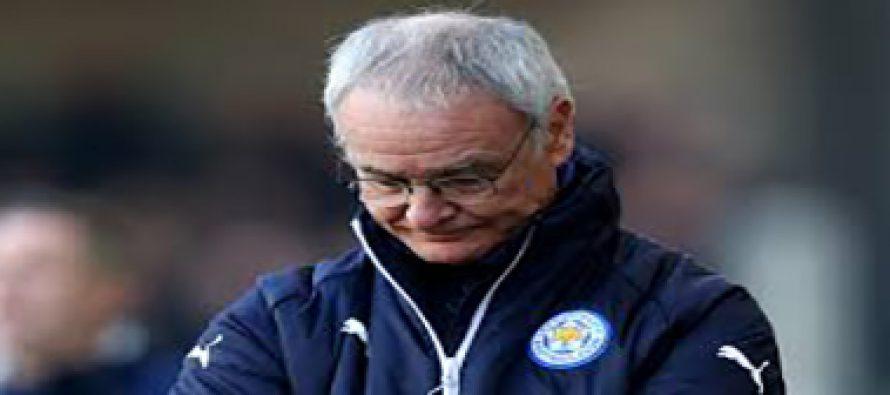 Claudio Ranieri sacked