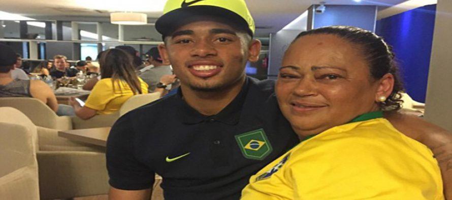 My son won't impregnate anyone – Gabriel Jesus' mother