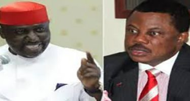 """Obiano hits back after Okorocha calls him man without idea: """"Okorocha contested for presidency to make money"""""""