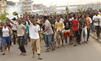 OrijoReporter.com, Kwara State Students protest