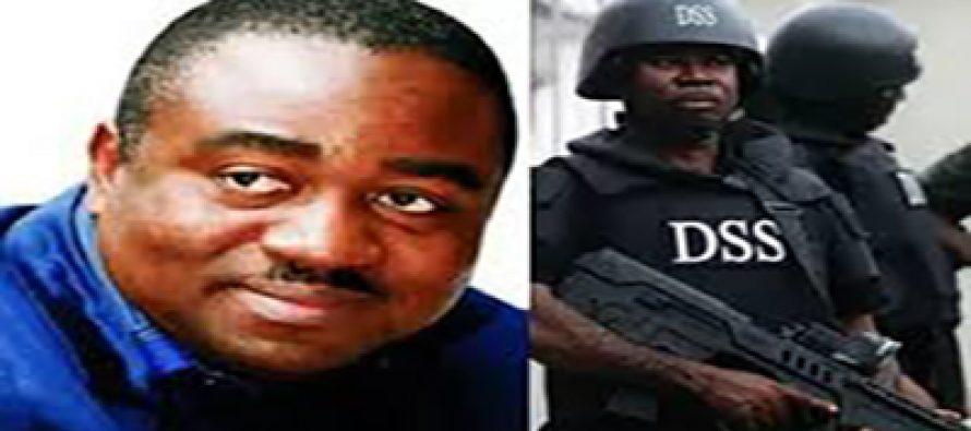 Ex-Gov. Suswam caught with guns