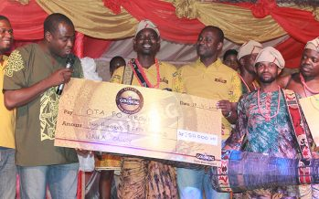 Goldberg Excellency Tour: Otapo Bata Drummers Emerge Winner of Cultural Contest in Abeokuta