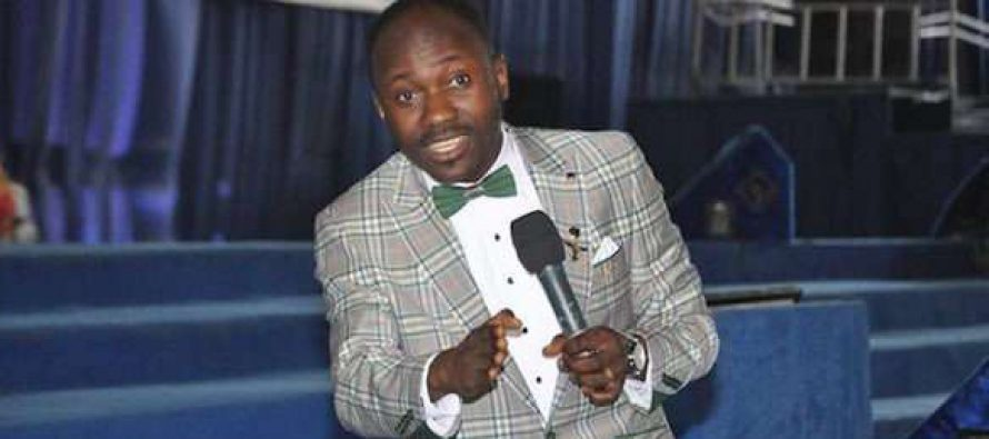 Apostle Johnson Suleman in adultery scandal as alleged lover demands N500m from him
