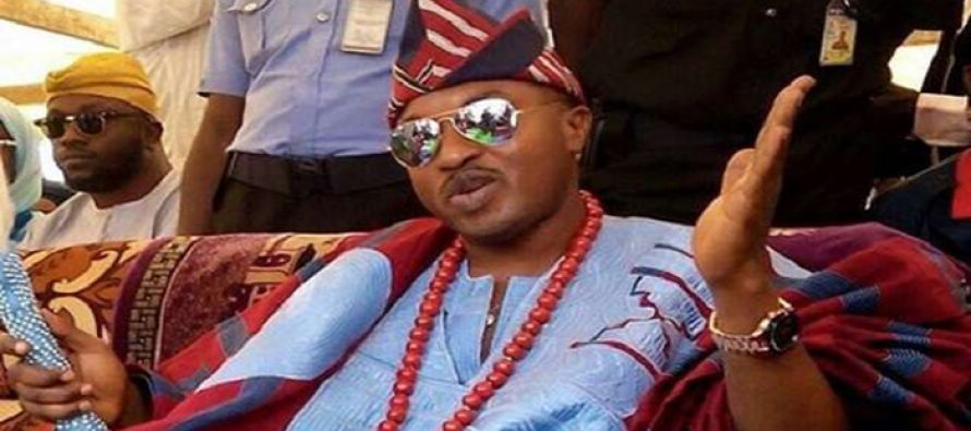Oluwo escapes death as his car collides with petrol tanker