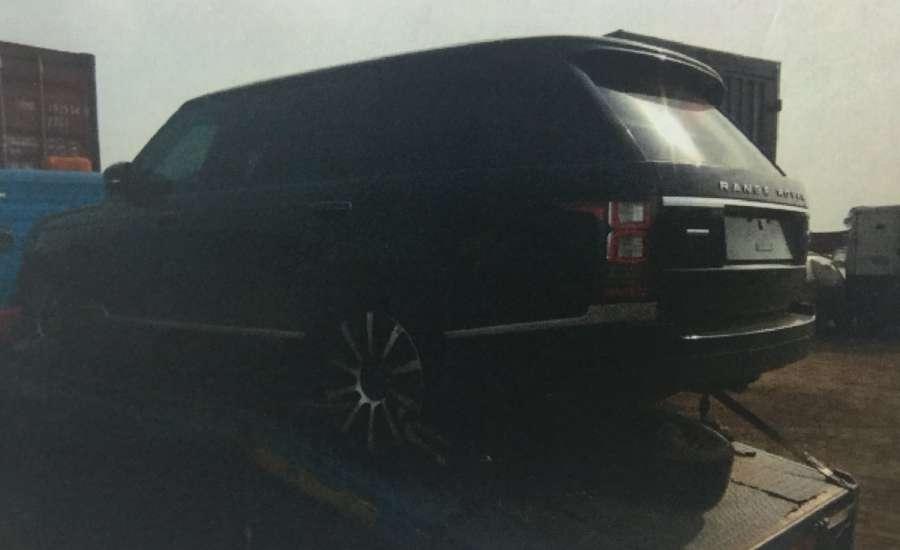 OrijoReporter.com, Saraki's bullet proof SUV