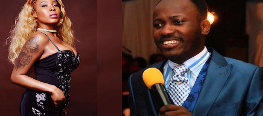 (Video) Apostle Suleman sent photo of his manhood to me, Alleged mistress claims