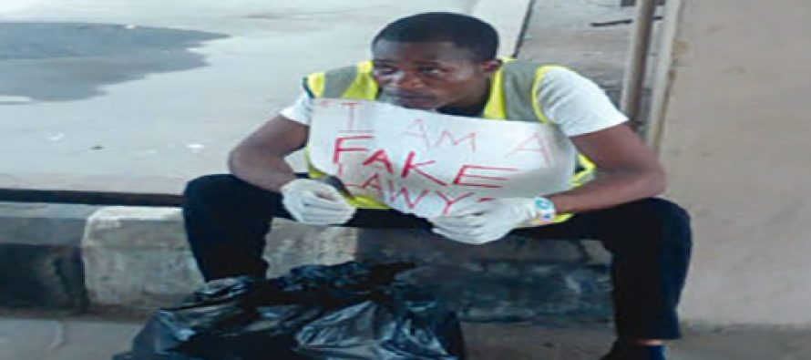 Fake lawyer arrested while representing suspected thief in court