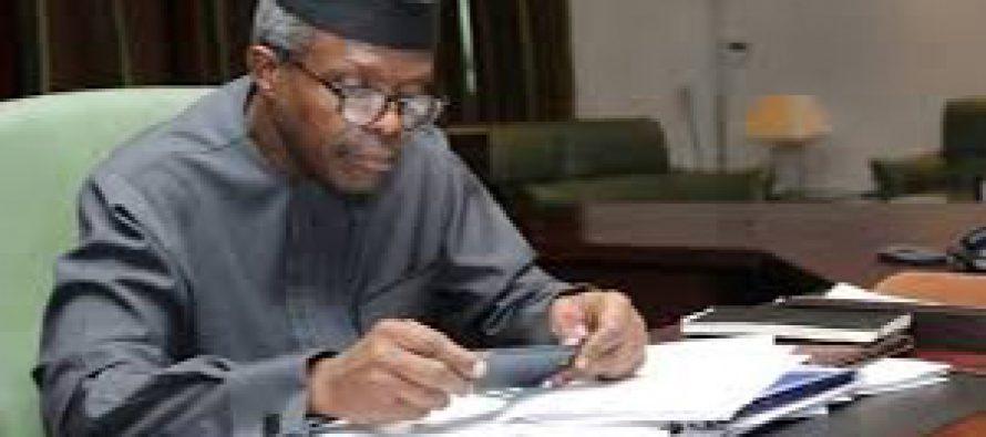 Buhari appoints Prof. Osinbajo chairman of NEMA