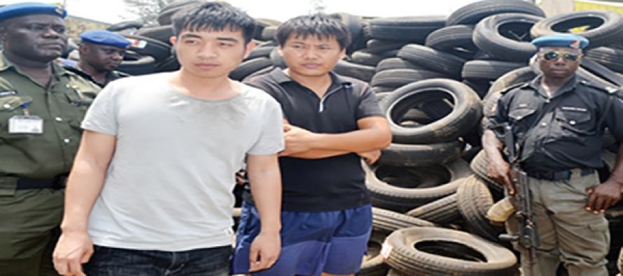 N5bn fake tyres importation: Court remands 2 Chinese, Nigerian